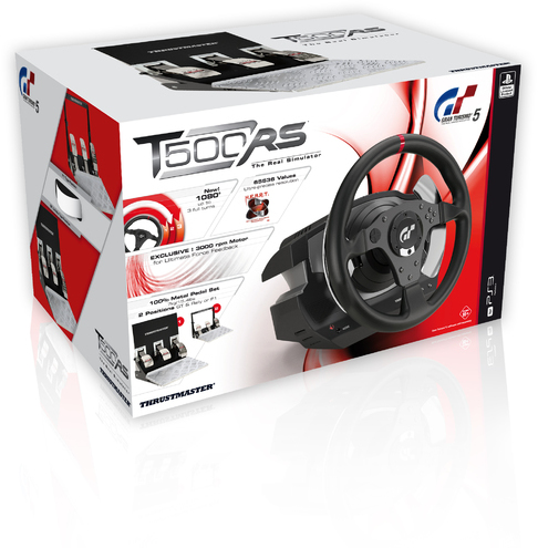 Thrustmaster T500 RS GT6 Steering Wheel (PC/PS3)