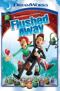 Flushed Away (DVD) - Cover