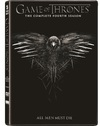 Game of Thrones - Season 4 (DVD) Cover