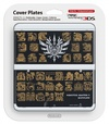 Nintendo new 3DS Cover Plates -  Monster Hunter 4 (Black)