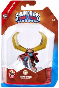 Skylanders Trap Team - Trap Master - Head Rush (For 3DS, Wii, PC, PS3 & Xbox 360) - Cover