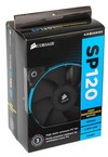 Corsair SP120 High Performance Edition Twin Pack with white/blue/red colour rings - 120x120x25mm