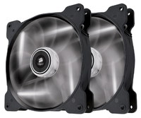 Corsair SP140 LED - White - x2 (twin pack) - 140x140x25mm - Cover