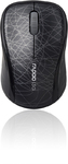 Rapoo 3100P 5G Wireless 3 Button Mouse - Black