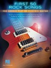 First 50 Rock Songs You Should Play On Electric Guitar - Hal Leonard Publishing Corporation (Paperback)