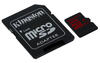 Kingston 32GB UHS-I U3 microSDXC with SD adapter - Retail Pack