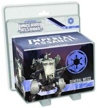 Star Wars: Imperial Assault - General Weiss Villain Pack (Board Game) - Cover