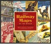 Great Railway Maps of the World - Mark Ovenden (Paperback)