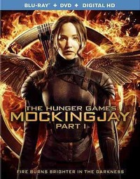 Hunger Games:Mockingjay Part 1 (Region A Blu-ray) - Cover