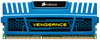 Corsair Vengeance with Blue heatsink, 4GB, DDR3-1600, CL9, 1.5v - 240pin - Memory