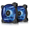 Corsair AF120 Quiet with Blue LED x2 (twin pack)