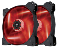 Corsair SP140 LED - Red - x2 (twin pack) - Cover