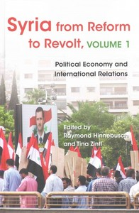 Syria from Reform to Revolt - Raymond Hinnebusch (Hardcover) - Cover