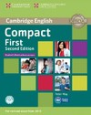 Compact First Student's Book Without Answers With CD-Rom - Peter May (Mixed media product)