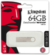 Kingston Datatraveler SE9 G2 - USB 3.0 64GB Flash Drive - Silver