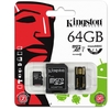 Kingston Technology Mobility kit / Multi Kit 64GB (FCR-MRG2 Micro Card Reader + SDXC Adapter)