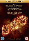 Hunger Games/The Hunger Games: Catching Fire/The Hunger... (DVD)