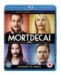 Mortdecai (Blu-ray) - Cover