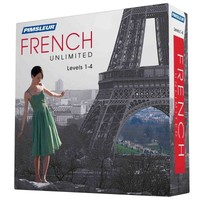 Pimsleur French Unlimited, Levels 1-4 - Pimsleur (Hardcover) - Cover