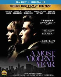 Most Violent Year (Region A Blu-ray) - Cover