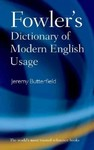 Fowler's Dictionary of Modern English Usage (Hardcover)