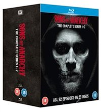 Sons of Anarchy: Complete Seasons 1-7 (Blu-ray) - Cover