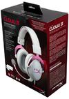Kingston Technology HyperX Cloud II 7.1 Gaming Headset - White/Pink