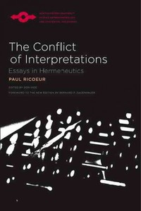 The Conflict of Interpretations - Paul Ricoeur (Paperback) - Cover