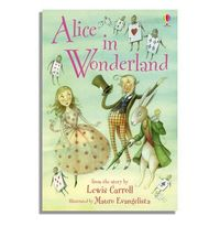 Alice in Wonderland - Lesley Sims (Hardcover) - Cover