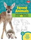 Learn to Draw Forest Animals - Robbin Cuddy (Paperback)
