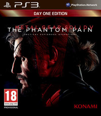 Metal Gear Solid V: The Phantom Pain (PS3) - Cover