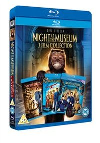 Night at the Museum/Night at the Museum 2/Night at the Museum 3 (Blu-ray) - Cover