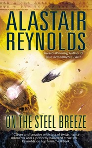 On the Steel Breeze - Alastair Reynolds (Paperback) - Cover