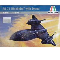 Italeri - 1/72 SR-71 Blackbird (Plastic Model Kit)