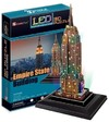 CubicFun - Empire State Building (USA) with LED unit 3D Puzzle (38 Pieces)