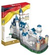 CubicFun - Neuschwanstein Castle (Germany) 3D Puzzle (98 Pieces)