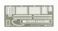 Tamiya - 1/35 Leclerc Etched Parts Set - Cover