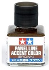 Tamiya - Panel Accent Colour Brown - 40ml
