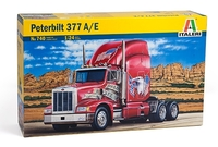 Italeri - 1/24 Peterbilt 377 A/E (Plastic Model Kit) - Cover
