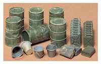 Tamiya - 1/35 Jerry Can Set (Plastic Model Kit) - Cover