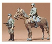 Tamiya - 1/35 German Mounted Infantry (Plastic Model Kit) - Cover