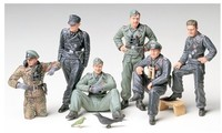 Tamiya - 1/35 German Tank Crew at Rest (Plastic Model Kit) - Cover