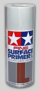 Tamiya - Surface Primer Fine L (L.Grey) - Cover
