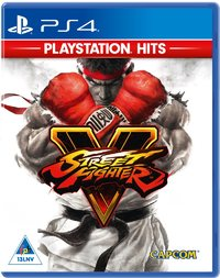 Street Fighter V - PlayStation Hits (PS4) - Cover