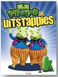 Tjiff & Tjaff - Uitstappies 2 (DVD) - Cover