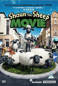 Shaun the Sheep: The Movie (DVD) - Cover