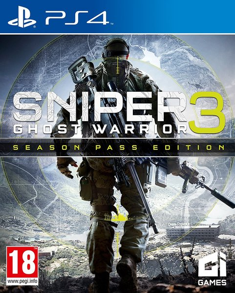 sniper ghost warrior 3 ps4 cover - Ps4 Video Games