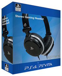4Gamers - Stereo Gaming Headset (PS4/PS Vita) - Cover