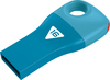 Emtec D300 - USB 2.0 Flash Drive - Car Key - 16GB - Blue