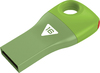 Emtec D300 - USB 2.0 Flash Drive - Car Key - 16GB - Green